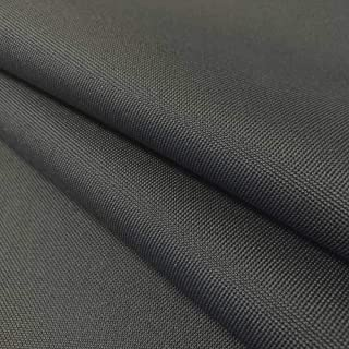 """Ottertex Canvas Fabric Waterproof Outdoor 60"""" Wide 600 Denier 15 Colors Sold by The Yard (1 Yard, Charcoal)"""