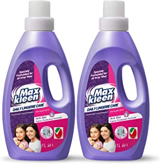 Maxkleen 1L Twin Pack Daily Lingerie Care AntiBacterial Concentrated Liquid Detergent– For Inner Wears