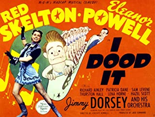 Posterazzi I Dood It (Aka by Hook Print by by Crook) Eleanor Powell Red Skelton Jimmy Dorsey 1943 Movie Poster Masterprint, ((14 x 11)