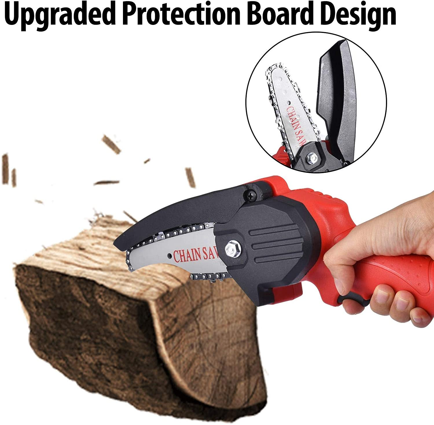 Pruning Shears Chainsaw for Tree Branch Wood Cutting Hbuilder Mini ...