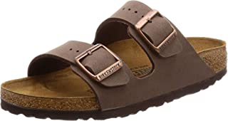 Arizona Birko-Flo Mocca Sandals - 44 Schmal
