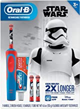Oral-B Kid's Star Wars Rechargeable Electric Toothbrush and 4.6 oz Crest Toothpast