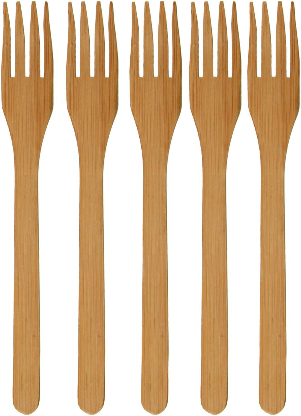 BambooMN supreme Solid Bamboo Dinner Fork 8