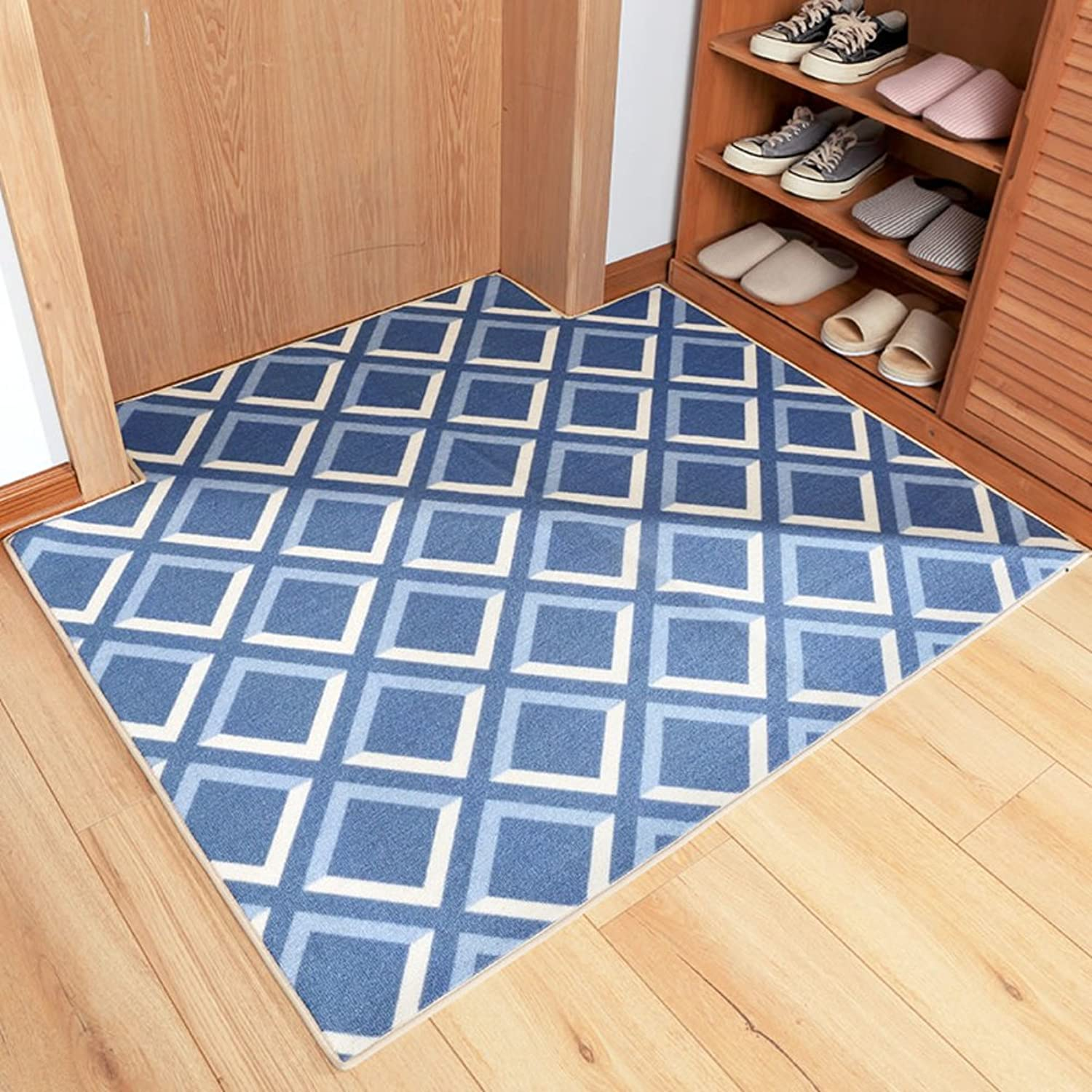 Into The Household Carpet Rubber Back Lining Living Room Small Carpet with Non-Slip mat Bedside Non-Slip Carpet-A 80x120cm(31x47inch)