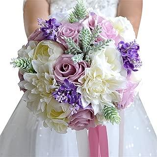 Wedding Bridal Bouquet, Wedding Bride Bridal Bridesmaid Bouquet, 9