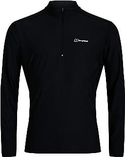 Berghaus Men's 24/7 Half Zip Long Sleeve Tech T-Shirt