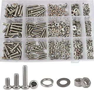 Gold Bigsweety 10pcs Motorcycle Well Nut Bolt Kit Windscreen Fairing Spike Kits Universal for Most Motorbike