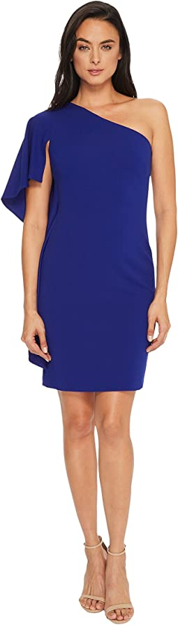 Calvin Klein - Ruffle One Shoulder Sheath Dress CD7C18DT