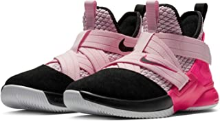 lebron shoes pink and black