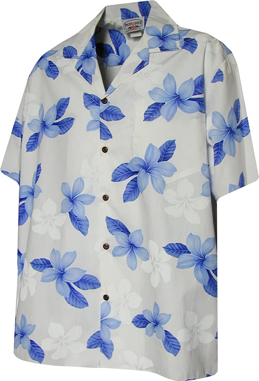 Pacific Legend Boys Single Tone Plumeria Shirt