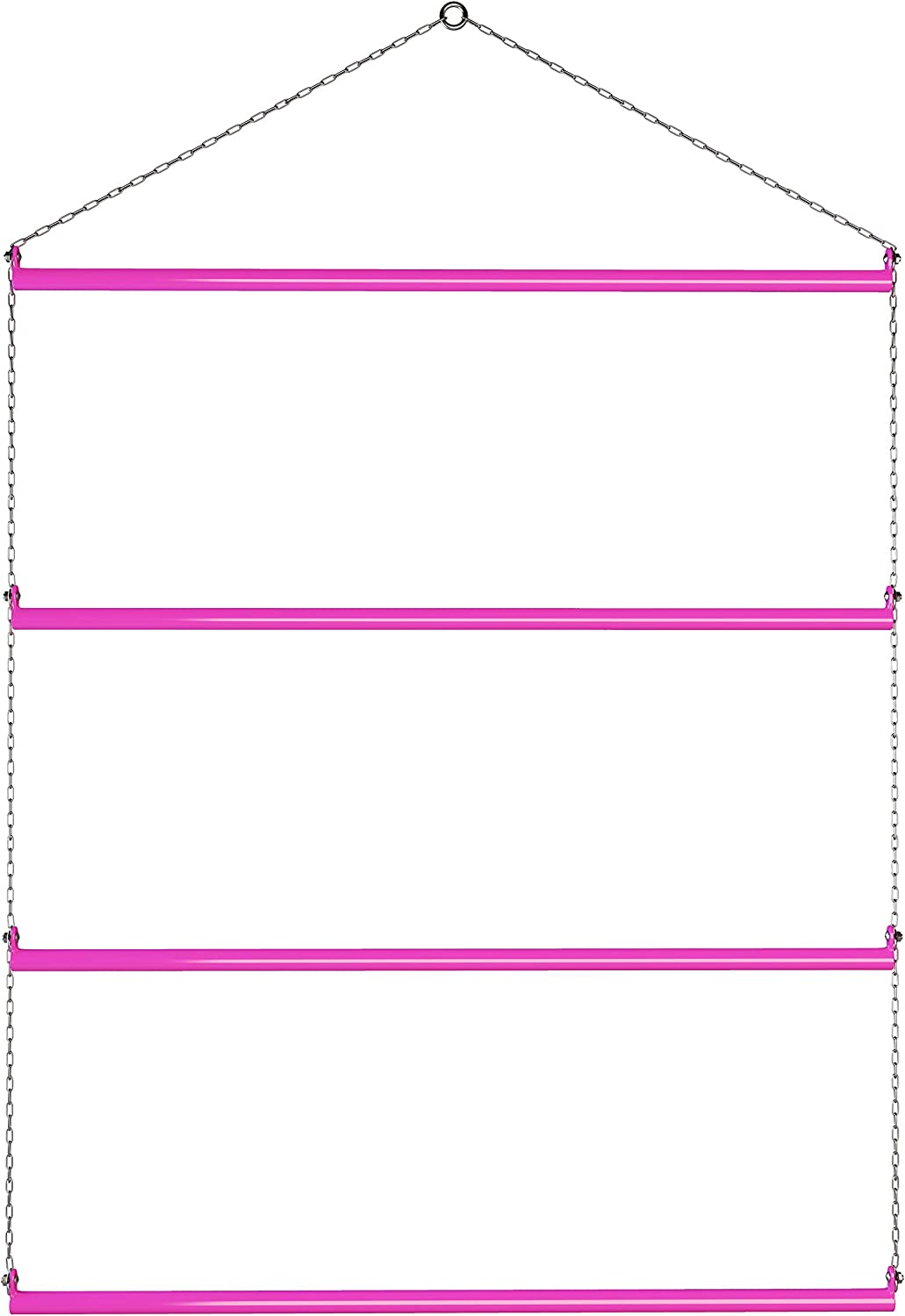 Echo Beach Equestrian Blanket Rack 33  (Pink). Available in Black, bluee, Red & Pink. Suitable for Horse Blankets, Saddle Blankets and Rugs. Extra Long for Western Saddle Blankets and Horse Blankets.