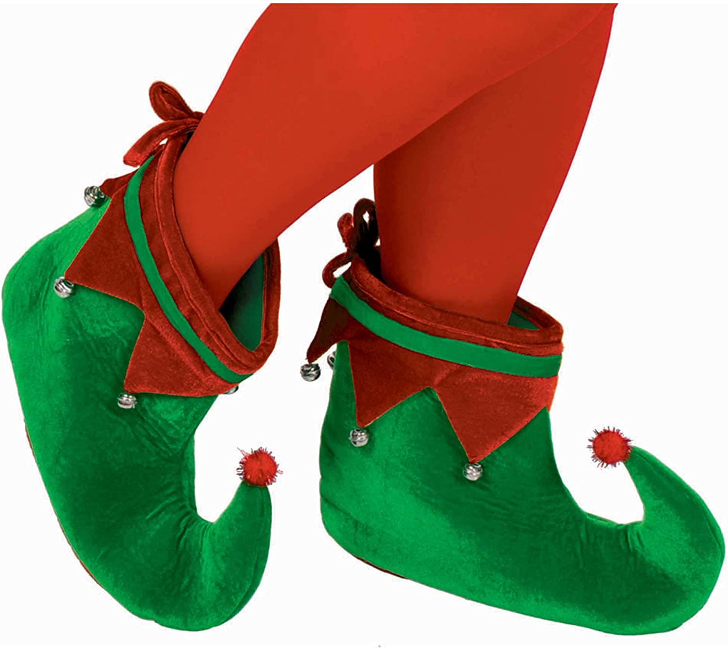amscan 393235 Adult Elf Max 54% OFF Shoes Costume Party 2021 spring and summer new Fabric