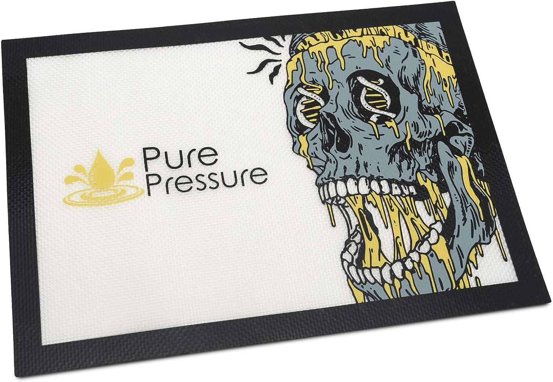 PurePressure store Silicone Dab Mat for Wax Concentrates and 2021 new Non Sti -