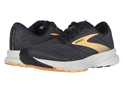 Brooks Launch 7 (Ebony/Black/Cantaloupe) Women