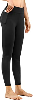 DOP DOVPOD High Waisted Yoga Pants for Women with Pockets Tummy Control Workout Leggings Athletic Running Pants