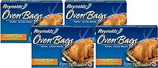 Reynolds Nylon 510 Reynolds Oven Bag 2-ct (Pack of 4) 8 bags Total