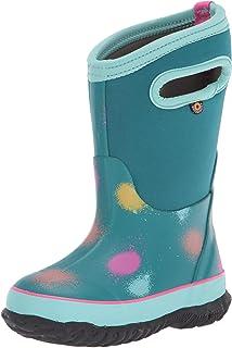 BOGS Kids' Classic Print Rainboot Waterproof Rain Boot