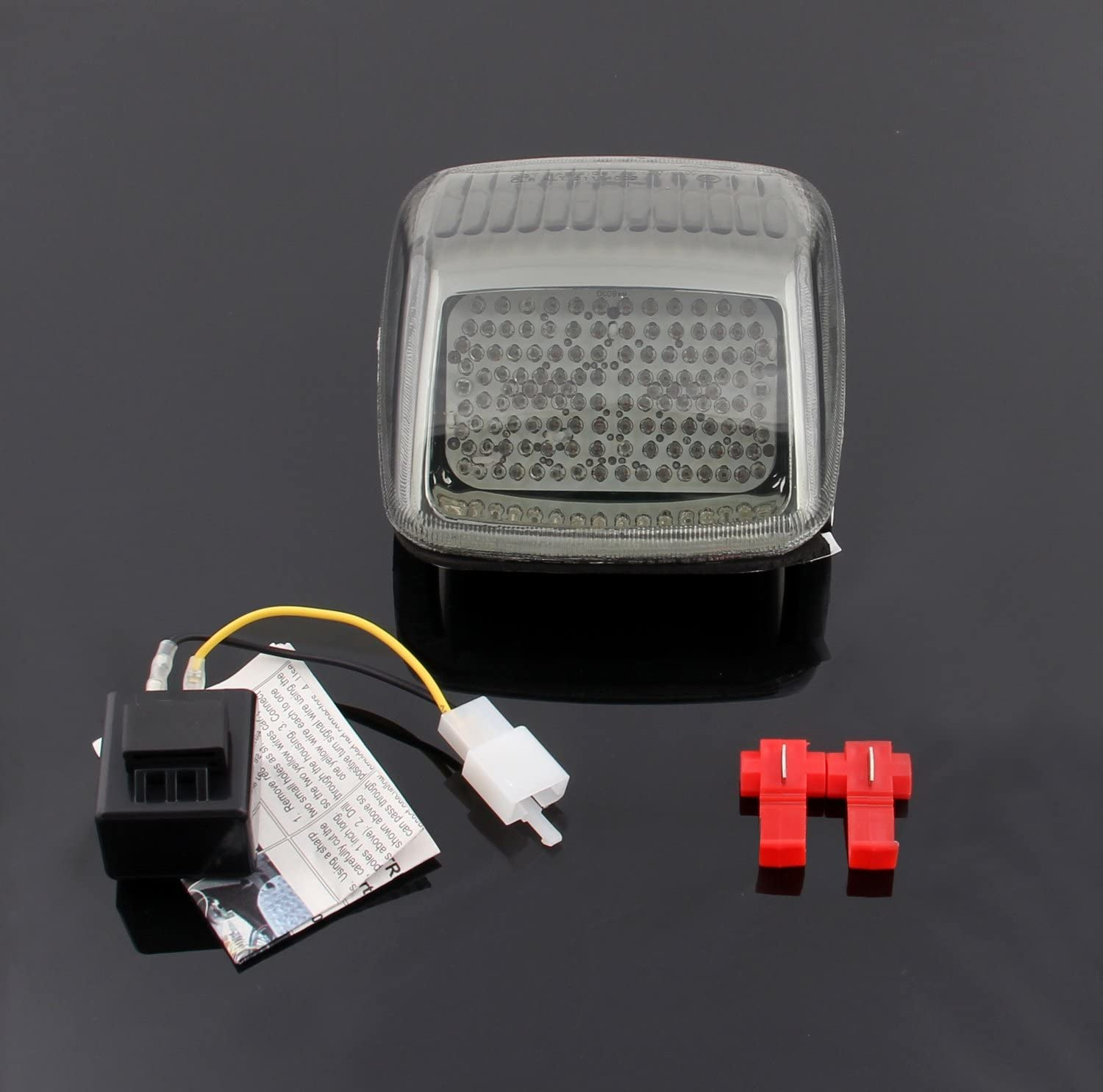 Areyourshop 5 ☆ very popular security LED Taillight integrated Turn Signals Fit For Harley