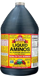 Bragg Liquid Aminos, All Purpose Seasoning, 128 Ounce
