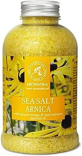 Sal de Baño de Árnica 600g - Sal Marina con Aceite de