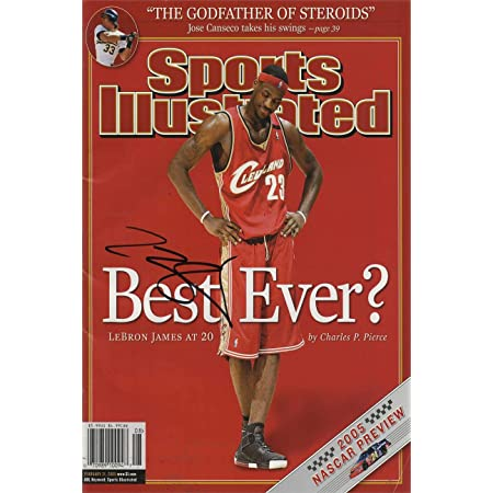 Cleveland Cavaliers 8x10 Print Framed LeBron James Sports Illustrated Autograph Replica Print