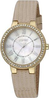 ESPRIT Women's Fashion Quartz Watch - ES1L228L1015; Golden