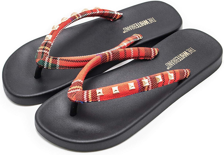 The White Cheap sale Brand Women's Luis Iv Platform Outlet SALE Sandals