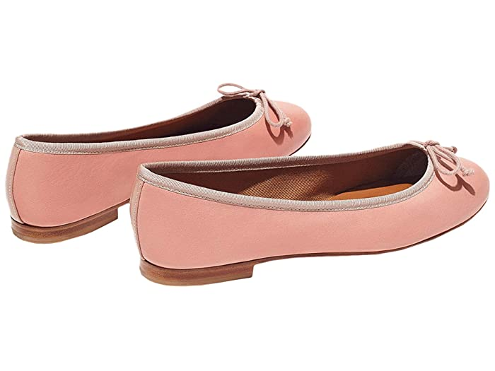Retro Vintage Flats and Low Heel Shoes Margaux The Demi Ballet Pink Womens Shoes $178.00 AT vintagedancer.com