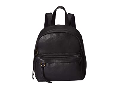 Madewell Mini Lorimer Backpack (True Black) Backpack Bags
