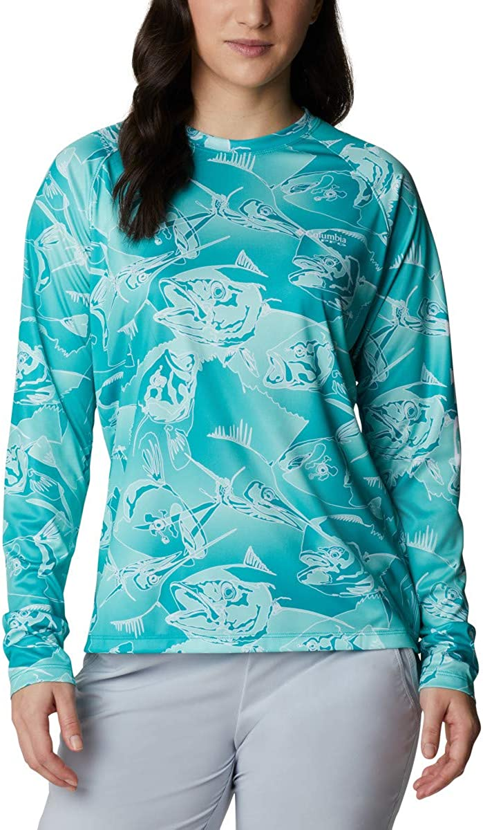 Columbia Women's Super Challenge the lowest price Tidal Tee supreme Sleeve Long