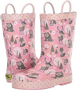 Whimsical Woodland Rain Boot (Toddler/Little Kid)