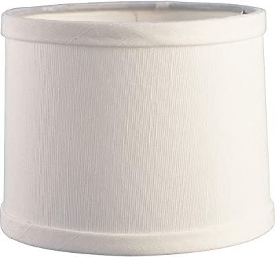 Progress Lighting P8704-01 Off White Silk Shade 1-Inch Candle Chaser, Off White
