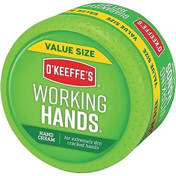 O'Keeffe's Working Hands Hand Cream Value Size, 6.8 oz., Jar, green (K0680001)