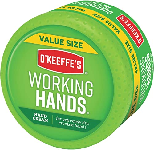 O'Keeffe's Working Hands Hand Cream Value Size, 6.8 ounce Jar, (Pack of 1)