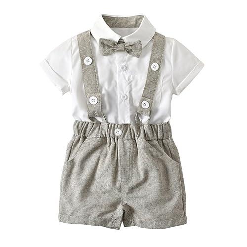 9834e2ff6 Toddler Overall Shorts Set  Amazon.com
