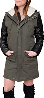 new style 0231b 973cf Amazon.it: parka donna verde con pelliccia - Giacche ...