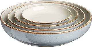 Denby TER-NEST4 Heritage-Terrace Set of 4 Nesting Bowl Set, One size, blue grey