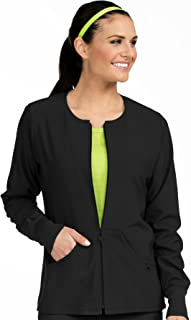 Women's 'Activate' Zip Front Warm Up Scrub Jacket
