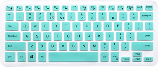 Silicone Keyboard Skin for Dell Inspiron 13 5000 i5368 i5378 i5379, Dell Inspiron 13 7373 7375 7368 i7368 i7378, 15.6