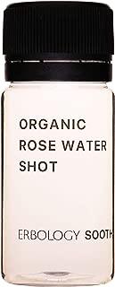 Organic Rose Water Shots (Box of 12 x 1.4 fl oz Shots) - Pure - Vegan - Gluten-Free - Premium Food Grade
