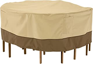 Classic Accessories 55-782-051501-00 Veranda Outdoor Patio Cover, X-Large, Pebble