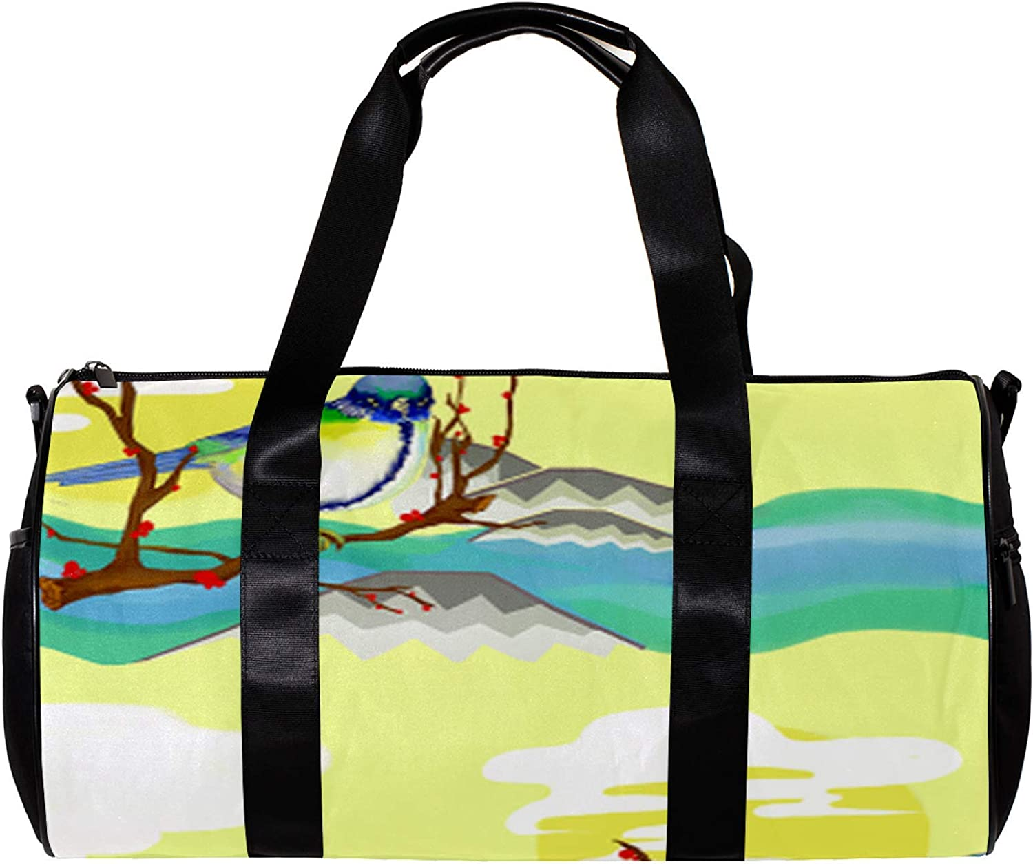LEVEIS Lowland Bird Sports Duffel Bag Gorgeous on Travel Tote Weeke Carry 25% OFF