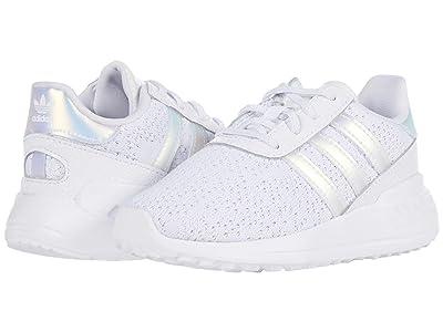 adidas Originals Kids LA Trainer Lite EL I (Toddler) (Footwear White/Footwear White/Core Black) Kids Shoes