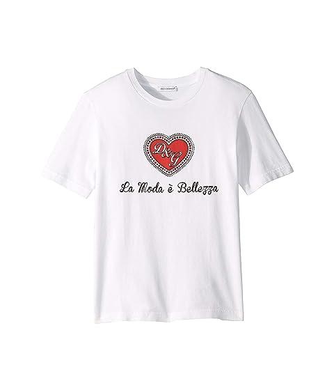 Dolce & Gabbana Kids D&G Heart T-Shirt (Little Kids)