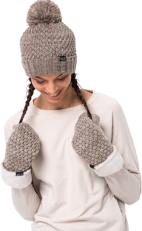 Jack Overseas parallel import regular item Wolfskin Women's Knit Highloft Cap Popular products