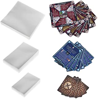 350 Sleeves for Gloomhaven Expansion Pack 100 Monster Card Sleeves, 150 Mini European, 100 Standard Size