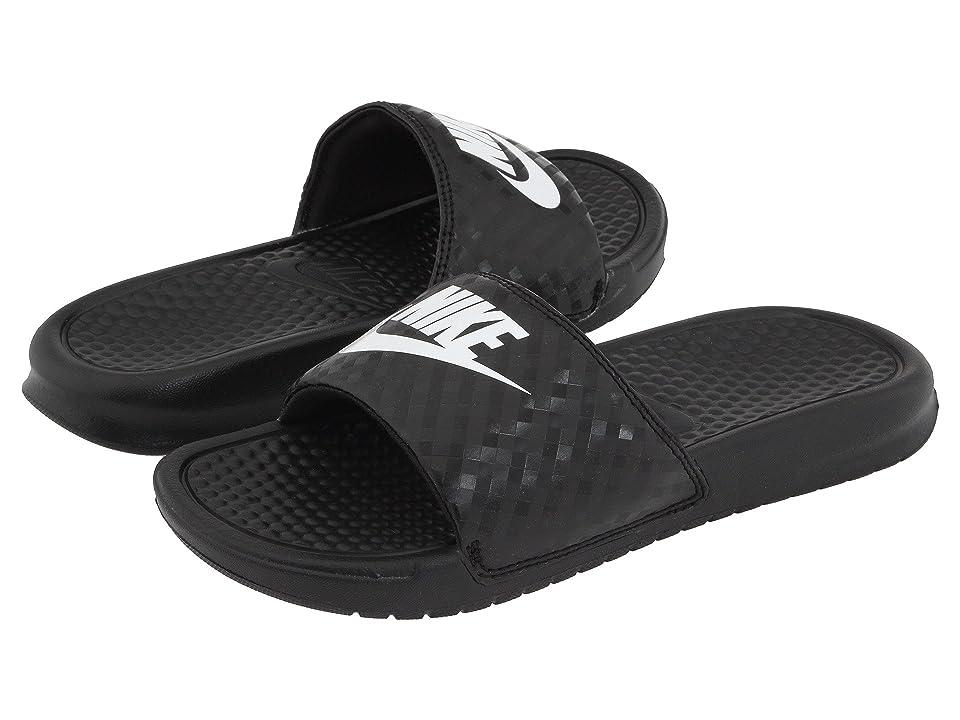 Nike Benassi JDI Slide (Black/White) Women