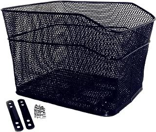 Bicycle Back Basket, YIFAN Storage Bike Cargo Rack Cycling Mountain Road Bike MTB Accessories - Black