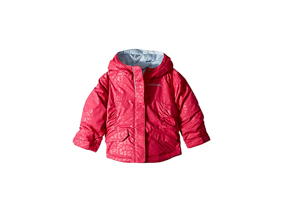 Columbia Kids Razzmadazzletm Jacket (Little Kids/Big Kids) (Cactus Pink Emboss/Faded Sky) Girl