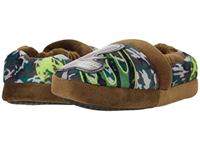 Favorite Characters Jurassic World Low Slipper JPF220 (Toddler/Little Kid) (Green) Boy